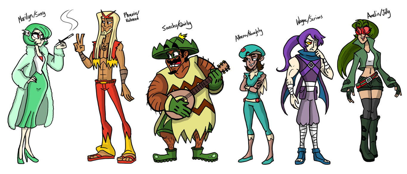 Pokemon Emerald Team GO! by ScruffyPalmTrees