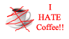 Coffee Hater Stamp by Phillus