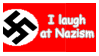 Nazi Laugher stamp by Phillus