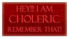 Choleric Stamp by Phillus