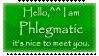 Phlegmatic Stamp