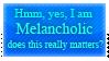 Melancholic Stamp