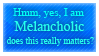 Melancholic Stamp by Phillus