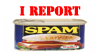 Report Spam Stamp by Phillus