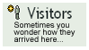 Visitor Stamp by Phillus