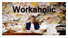 Workaholic Stamp by Phillus