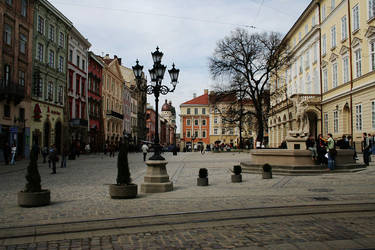 Ploscha rynok. Lviv