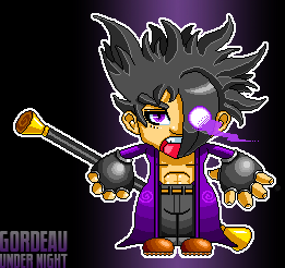 Pixel Gordeau by debureturns