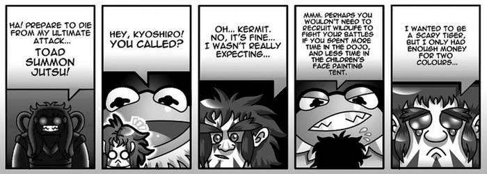 Kyoshiro's Secret by debureturns