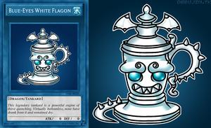 Blue-Eyes White Flagon