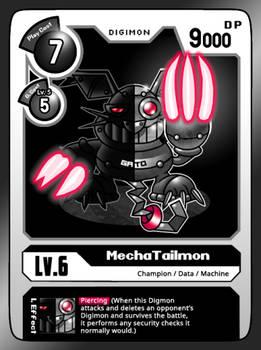 Mecha Tailmon Card