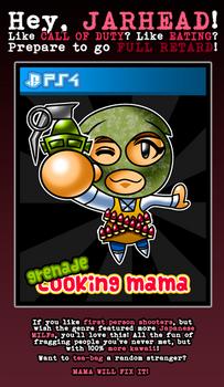 Grenade Cooking Mama