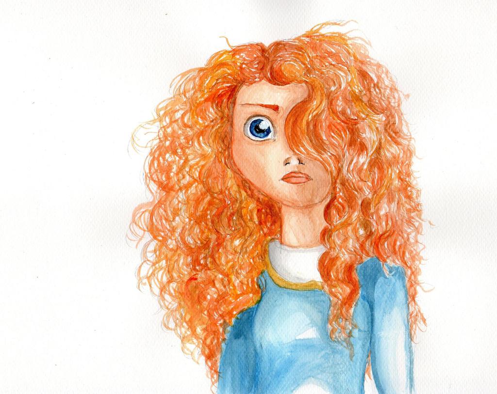 I am Merida by Elliepamp