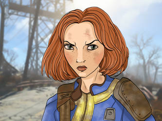 Fallout 4 by Elliepamp