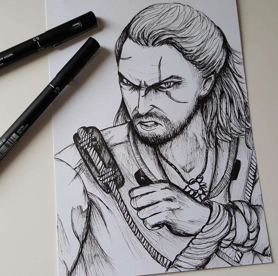 Geralt de Riv by Elliepamp