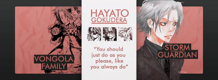 Gokudera Hayato KHR CoverFB Byseo17