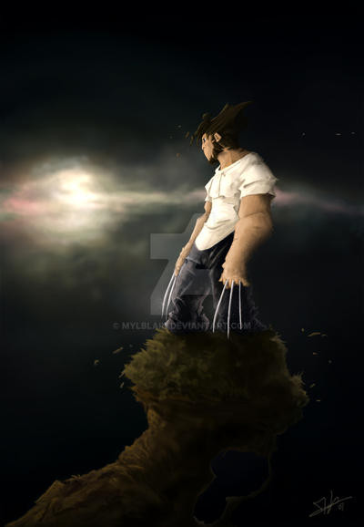 Wolverine by mylblain