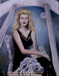 Moongoddess-Artemis-on-lions-throne-temple-J.Arnol