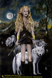 Artemis-and-wolves-WZ-J.Arnold