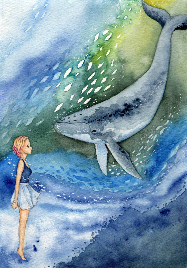 Whale by Ierne
