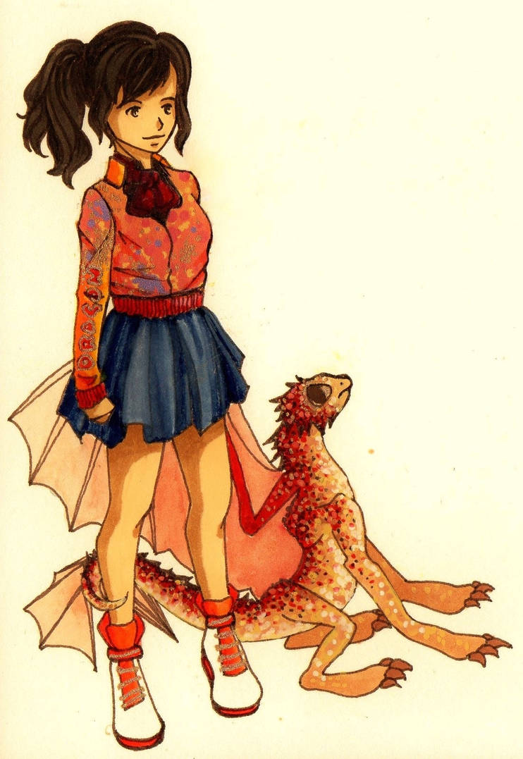 Aliya and Mishka by Ierne