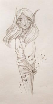 Mitchell, pencil version