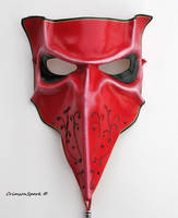 Crimson Bauta Mask by TasteOfCrimson