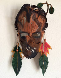 Shaman Spirit Walker Mask