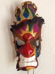 Leather Tiki Mask