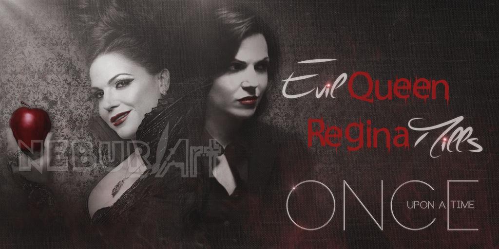 Regina Mills/Evil Queen. OUAT. Lana Parrilla by NeburArt ...