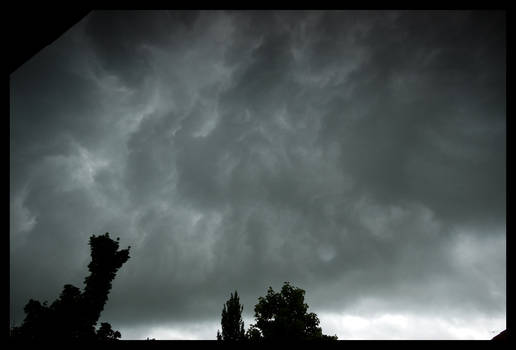 Shelfcloud from behind