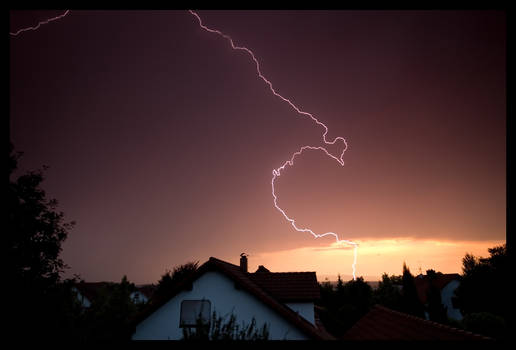 Lightning at day
