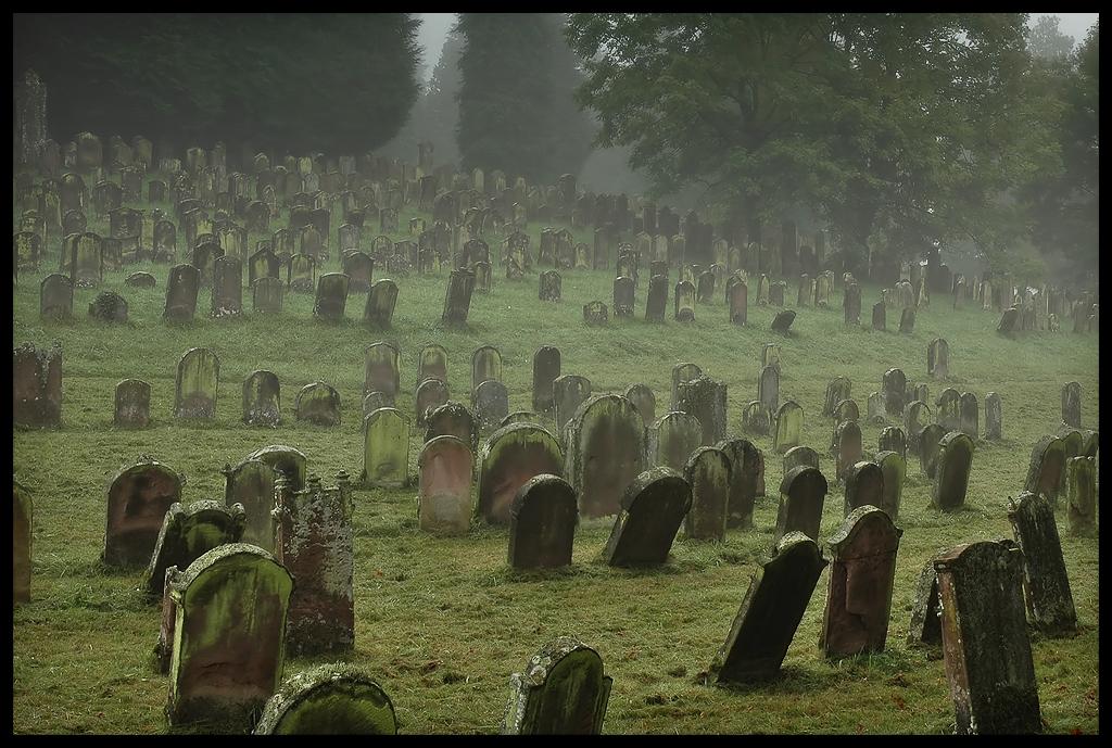 Jewish Graveyard I by FrederikM ...
