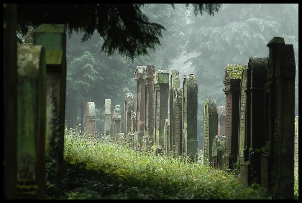Jewish Graveyard IV by FrederikM