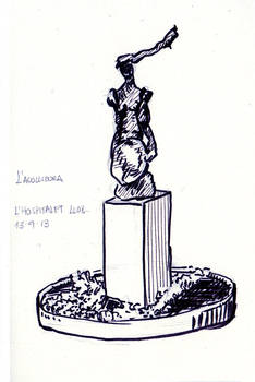 Sketch  L'acollidora, L'Hospitalet de Llobregat