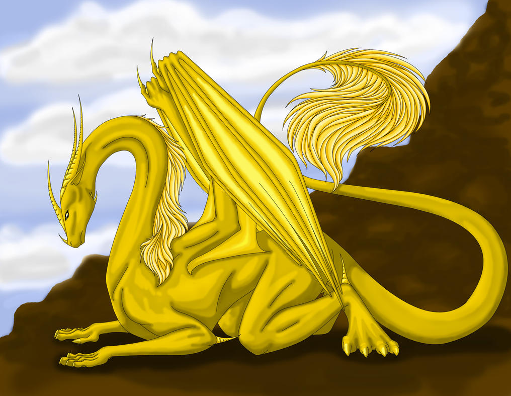 Golden Dragon by Siri7860