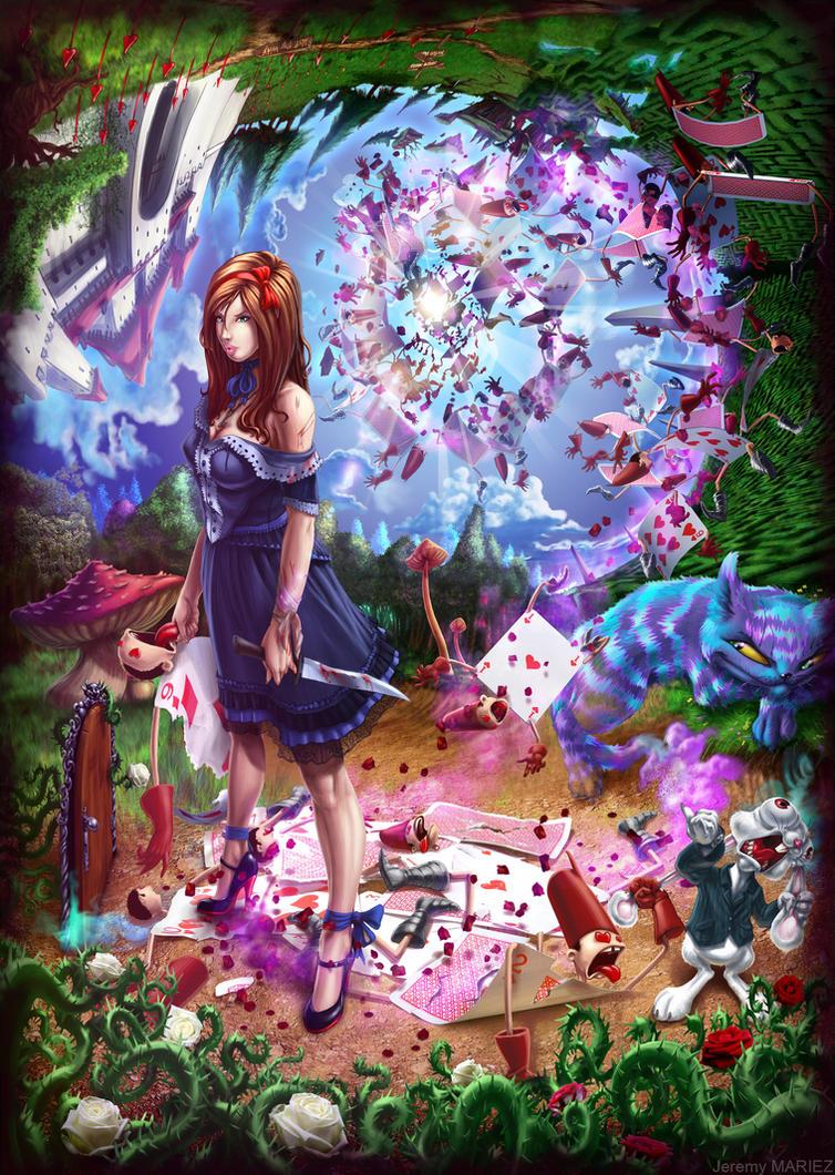 Alice in my wonderland... by choptider