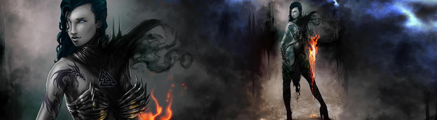 Dark side fire by choptider