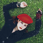 Red Beret by zlty-dodo