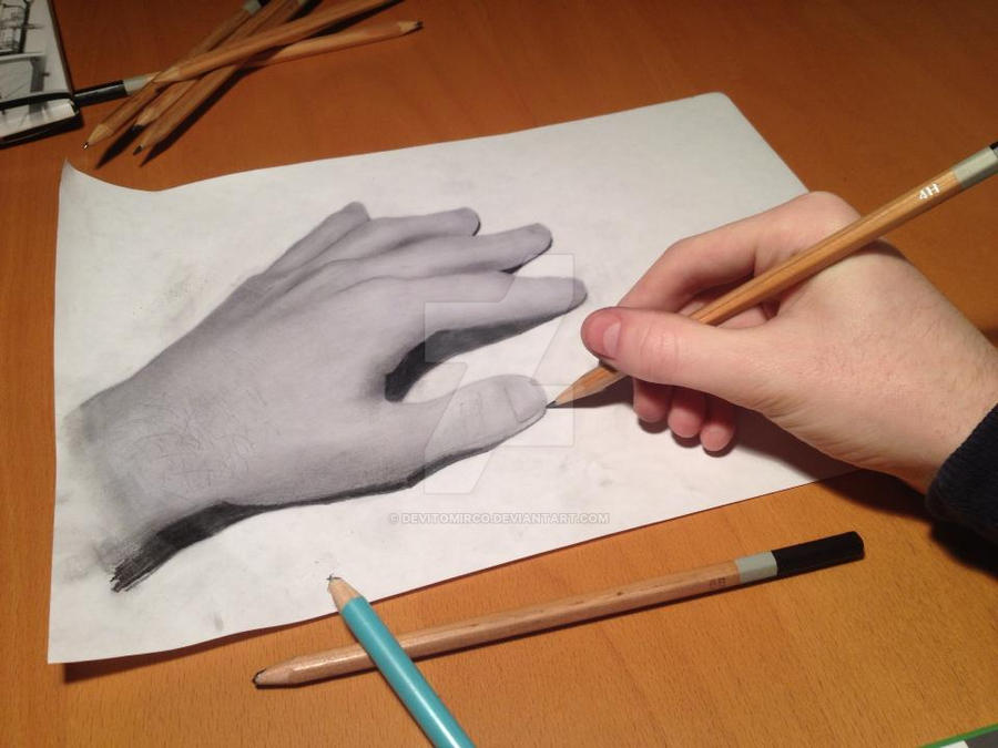 What Is Realy Real Anamorphic Art By DeVitoMirco On DeviantArt - Anamorphic art looks real