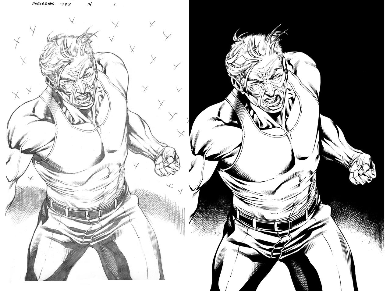snake eyes and storm shadow 14 page 1 by juancastroinker on DeviantArt