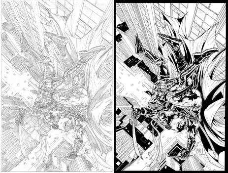 batman vs deathstroke