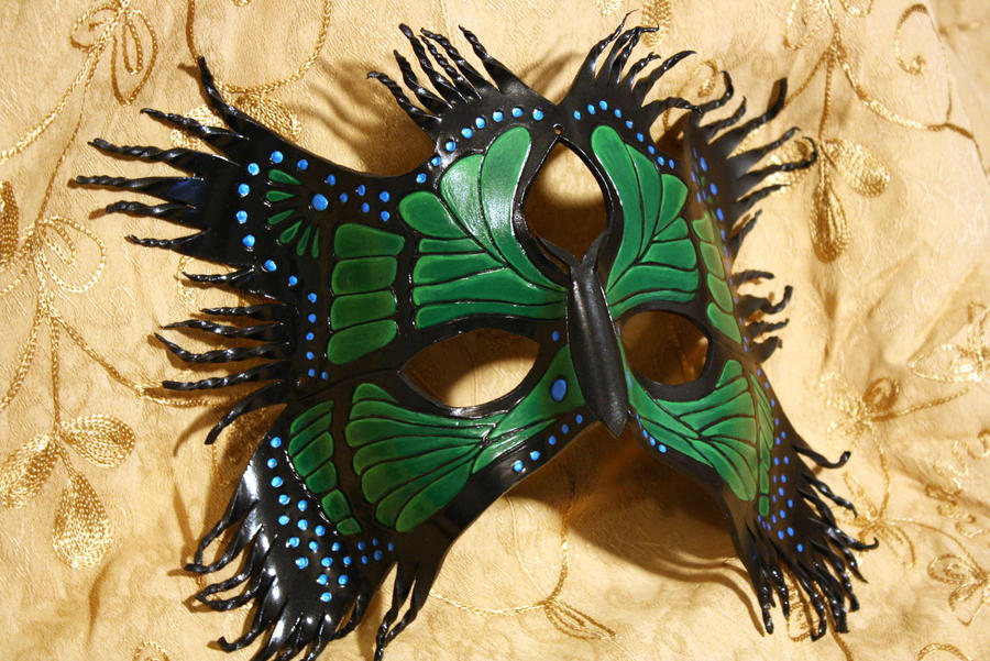Gothic Butterfly Emerald by Lady-Cass