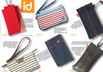 Brochure design for ID bags