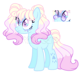 Auction Pony Pastel [Closed] by RedGemOMG