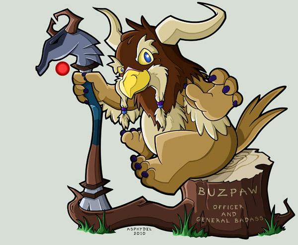 Buzpaw by Asphydel