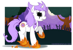 My Little Undead Pony by Asphydel