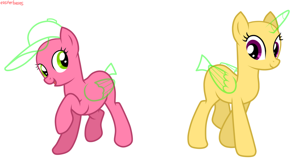 Mlp Stallion Base Along With Best Friends Mlp Base  : mlpbase12ponypalsbyeasterbases d83weuz from vacances-mediterranee.info size 1024 x 580 png 143kB