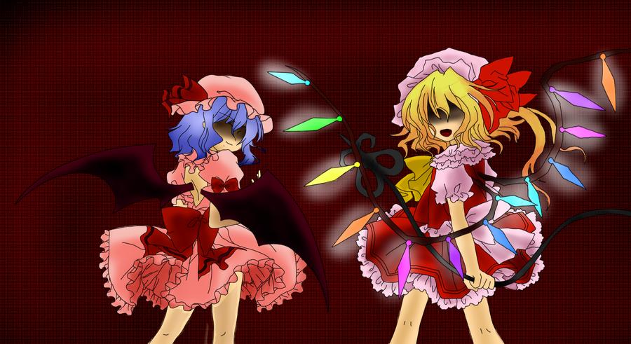 Scarlet Devil Sisters by Shizel-Azur