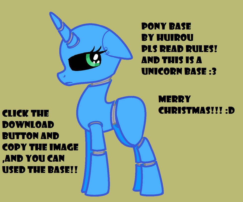 Mlp Fnaf Robot Pony Base By Huirou On Deviantart